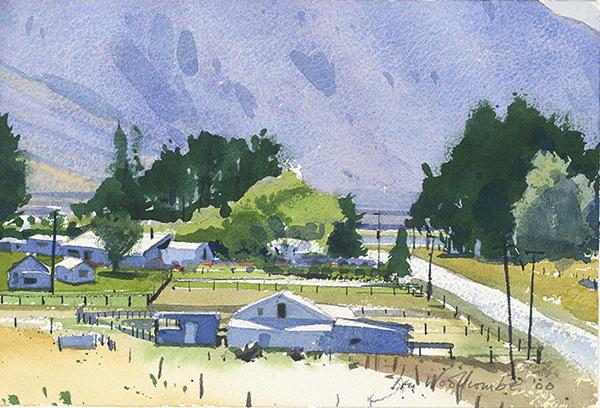 Benjamin-Ben McLoud woolshed, Rangitata Valley, New Zealand