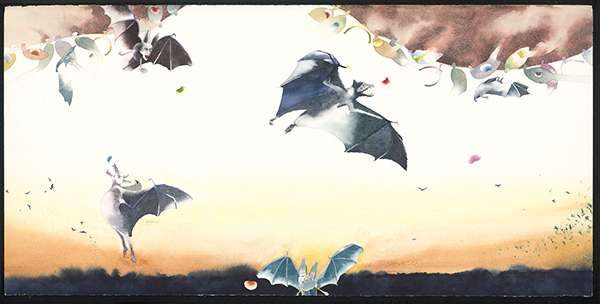 Bruce Bobick, Bats and Beans: Feeding Frenzy 蝙蝠與豆子的狂饗曲