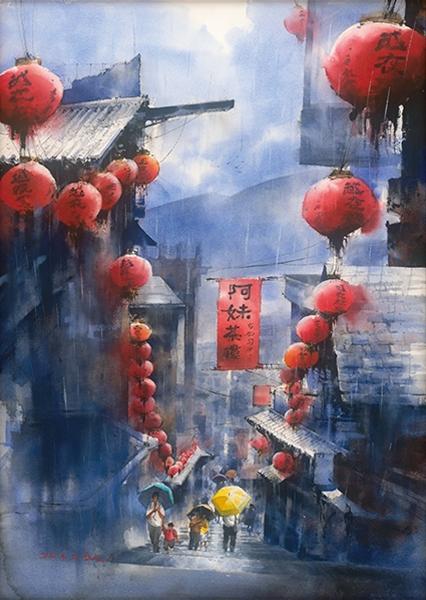 余思瑩-煙雨山城—九份