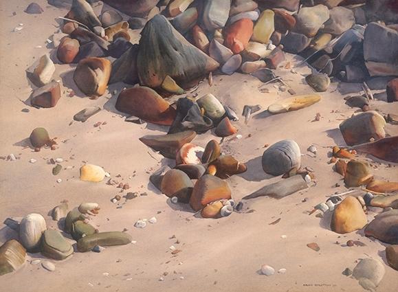 布萊恩.史崔頓-漁岸的沙
