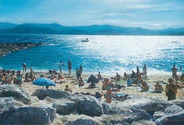 粘信敏-蔚藍海岸的陽光