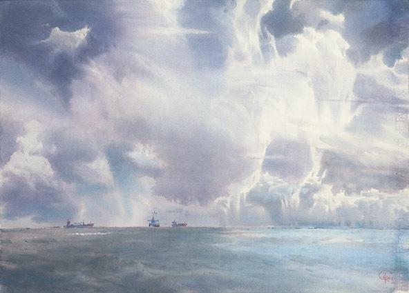 謝爾蓋.泰梅爾夫-雲朵招搖而過