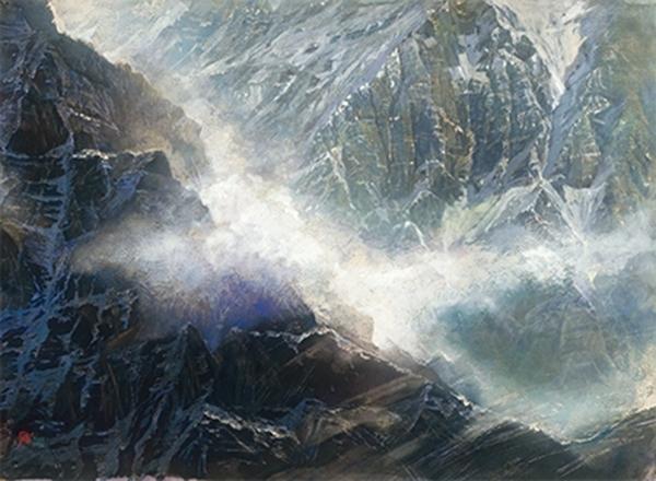 郭明福-黑灰之間的白雲