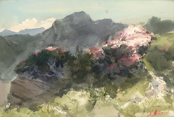 黃進龍 -玉山杜鵑花開